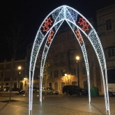 Decorations around Mouraria district.